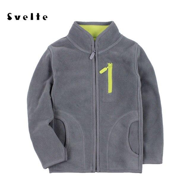 SVELTE 8 color kids jacket spring jacket boys kids Unisex Polar ...