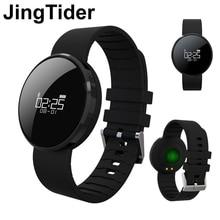 Jingtider UW1S Спорт умный Браслет монитор сердечного ритма крови Давление IP67 Водонепроницаемый Смарт Группа Браслет для Android IOS Телефон