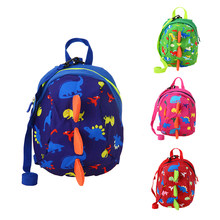New Cartoon Dinosaur Toy Printing Small Cute School Backpack Kindergarten Bags for 1-3 Years Old Girls Boys School Juguetes(China)