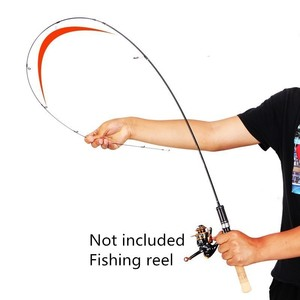 Image 3 - 2020 Newest UL Power Casting / Spinning Fishing Rods Soft Solid Carbon Spinning Lure Fishing Rod 1.8m 1.98m 1.68m