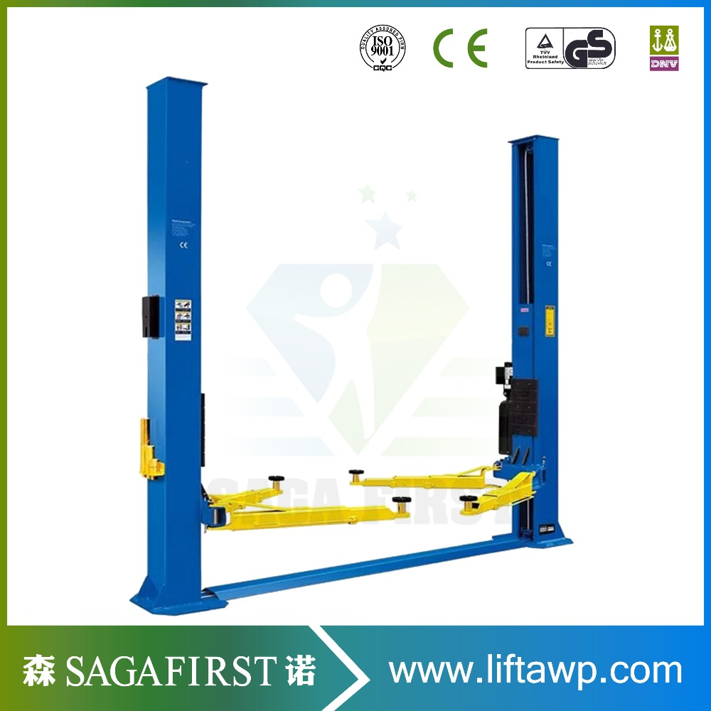Big Sale Two Post 4500 Kg Clear floor 2 Post Car Lift