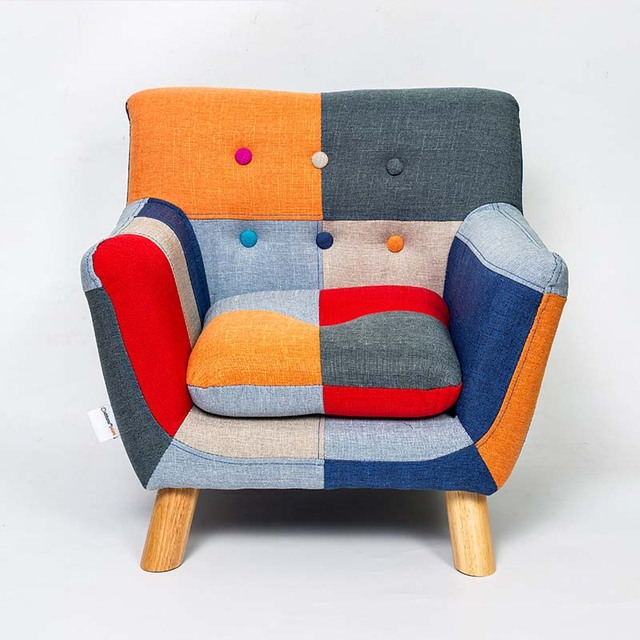 Rural Patchwork Chair