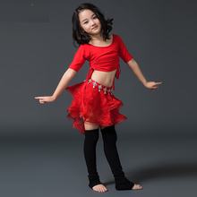 New Style Kids Belly Dance Costume Oriental Costumes Dancer Clothes Indian For 2pcs/set