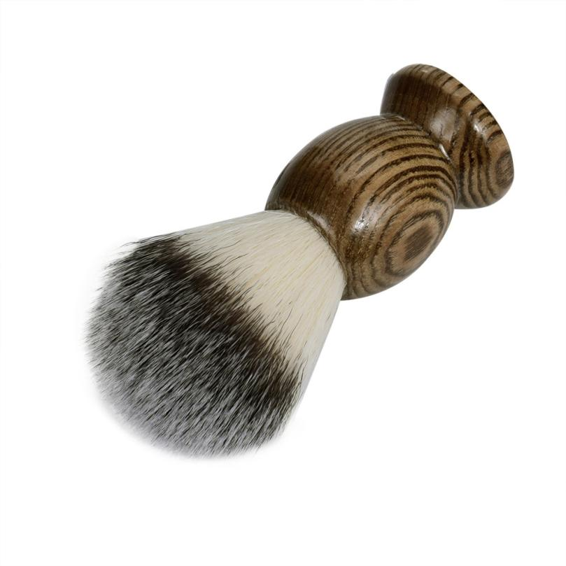 New Sexy Men Shaving Beard Brush Best Badger Hair Wooden Handle Shave Black Barber Tool black 3JY10 3