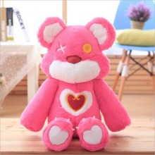 New Style Lovely Pink Bear Plush Toy Stuffed Plush Doll Birthdy Gift For Girl or Girlfriend стоимость