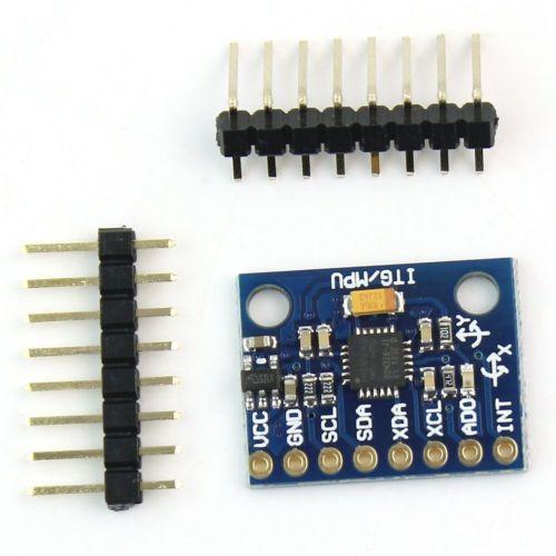 MPU-6050 MPU6050 3 Axis Gyroscope Accelerometer Sensor Module 3V 5V Compatible For Arduino MPU 6050 GY521