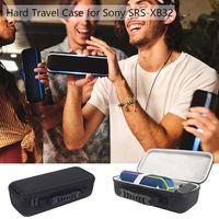 Quadrado Caso EVA Rígido de Proteção À Prova de Choque Caixa para Sony SRS XB32 Extra Bass Bluetooth Speaker Portátil|Acessórios de caixas de som| |  -