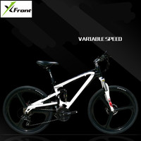 New Brand Mountain Bike Soft Tail Aluminum Alloy Frame Bike SHIMAN0 M370 Hydraulic Disc Brake Bicycle 21/24/27 Speed MTB