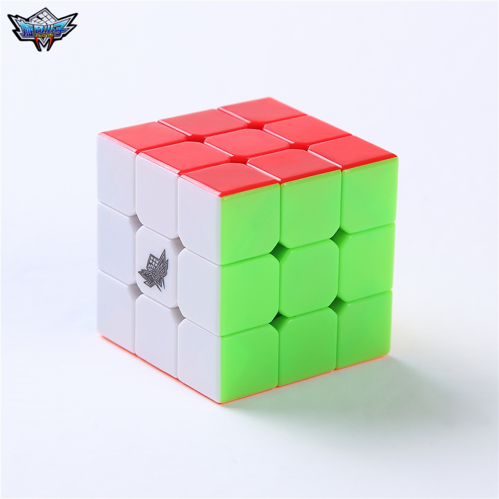 40mm cube 3x3x3 Cyclone Boys Mini Magic Cube Puzzle Cubes Speed Cubo Square Puzzle Stickerless Gifts Toys for Children free shipping 10pcs dly d1
