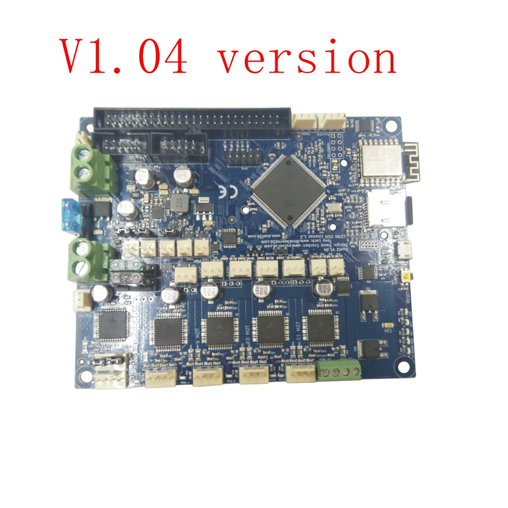 все цены на Latest version V1.04 Duet 2 Wifi Upgrades Controller board DuetWifi 32bit Motherboard Duet WIFI for 3D Printer w/ TF card