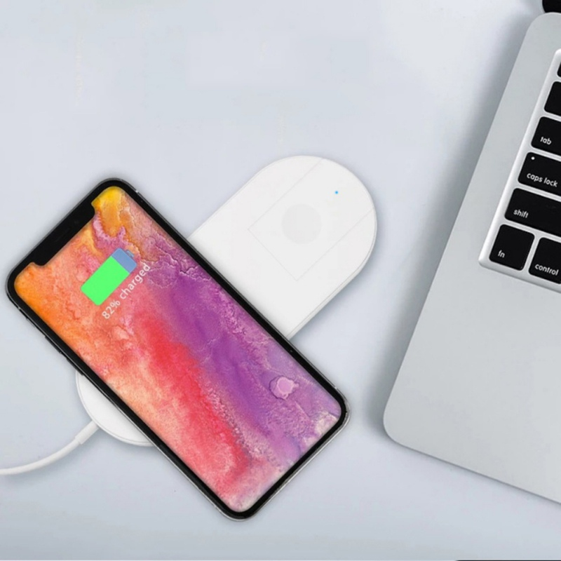 Universal Wireless Charger Combo 7.5W and 2W For iPhone For Apple Watch For iwatch For Smartphones USB Charger Pad