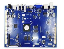 JLD059 T968 Android quad-core motherboard with 4K HDTV with VGA input(China)