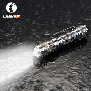 Image 5 - LUMINTOP Tool Ti AAA mini zaklamp met Cree en Nichia 219CT LED Titanium zaklamp Max 34 Meter Beam Afstand 110 lumen