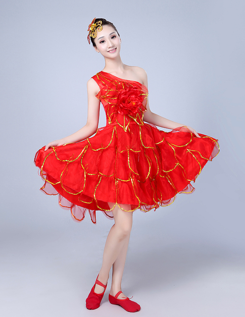 The New Spanish Dance Skirt Is A Short Dress For Of