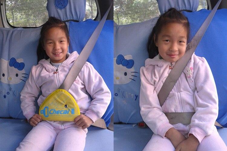 4 цвета Детский плечевой ремень регулятор ремня безопасности автоматический регулятор ремня безопасности Детские Ремни безопасности фиксатор нейлоновые ремни безопасности Чехол