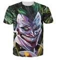 Majin Joker T-Shirt Batman Dragonball Z crossover the Joker super saiyan Fashion Clothing Summer Style Women Men tees t shirt