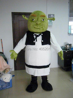 character shrek mascot costume fiona walking act