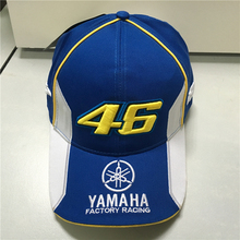 Rossi VR46 Baseball Cap MOTO GP YMH Motorcycle 3D Embroidered Racing 46 Hat Men Women Snapback Cap Sports Sun Outdoor Brand Hats