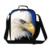 Hot Animal Lancheira Legal Águia Impressão 3D Alimento Do Piquenique saco Para Homens Escola Lancheira Das Crianças Crianças Saco de Comida Bolsa Termica
