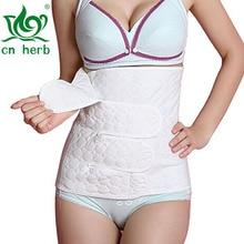 100% Cotton CN Herb Women Postnatal Recovery Abdominal Binder Waist Trainer Slimming Belt free shipping