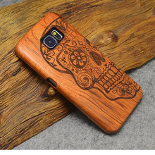 Wooden Back Cover for Samsung Galaxy S6 / S6 Edge