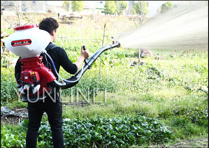 Multifunctional High-Intensity Atomizer Lawn&Garden Sprayer Agricultural Pesticides Fertilizers 26L Spraying Machine 3WF-140AW image