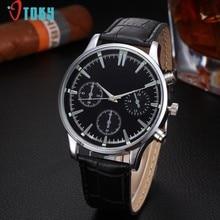 58e7e950c40 Excellent Quality OTOKY Men Watch Luxury Brand Watches Quartz Clock Leather  Belts Watch Cheap Sports Wristwatch Relogio Male