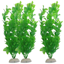 10pcs Submarine Aquarium Ornaments Underwater Plastic Green Artificial Aquarium Plants for Fish Tank Aquarium Decor