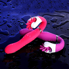 Bigbanana 12 Frequency Silicone G-Spot Vibrator for Women Clitoris Stimulation Adult Sex Toys Chargeable Vibrators