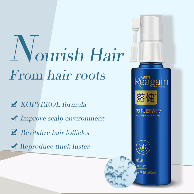 Anti Hair Loss Nourishing Essence Spray Natural Extract Relieve Hair Loss and Strongen Roots Nourish Scalp Thicken Hair 60ml 4