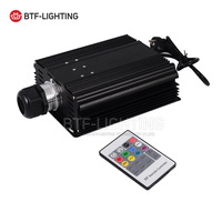 Wholesale RGB 45W LED Fiber Optic Engine 20key IR Remote Controller For All Kinds Fiber Optics