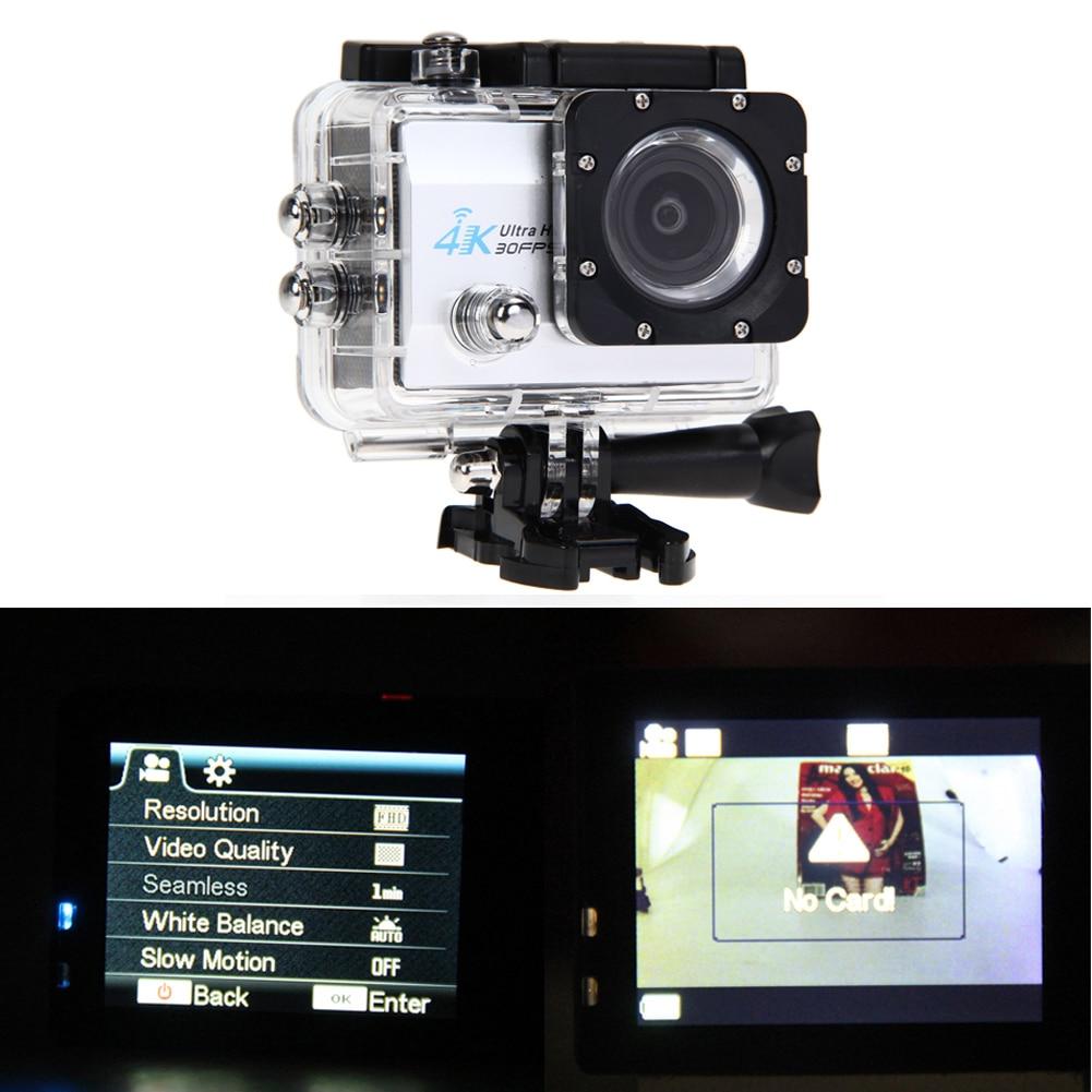 ФОТО 2 inch 4K 30fps/ 2.7K 30fps Full HD WiFi 16MP Camera Waterproof Sports DV Helmet Camera US
