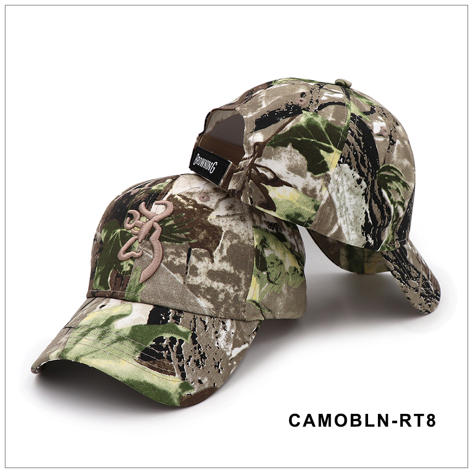 CAPSHOP 2020 New Camo Baseball Cap Fishing Caps Men Outdoor Hunting Camouflage Jungle Hat Airsoft Tactical Hiking Casquette Hats 8