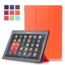Para Lenovo TAB 3 10 Negocio TB3-X70F/M Tablet PC Caso ultra-delgado para TAB2 A10-70F Caja de la Computadora de 10.1 pulgadas Tablet PC Paquete