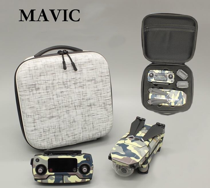ФОТО Mavic Pro drone portable carrying bag remote control battery storage case for Mavic Pro UAV spare parts
