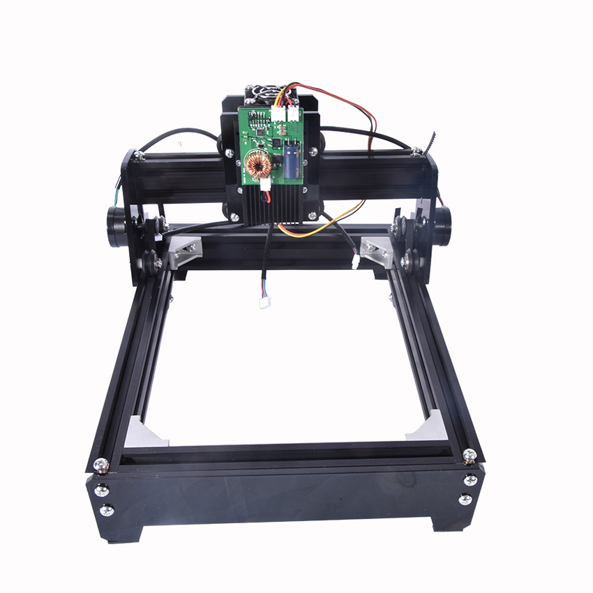 New 15W 12v4A laser engraving machine small marking machine picture desktop cutting plotter laser cutting machine (140mm*200mm) купить