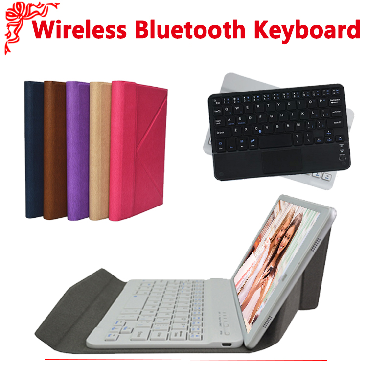 Universal Wireless Bluetooth Keyboard mouse touchpad Case for chuwi Hi8/HI8 PRO/vi8 plus/vi8+ Bluetooth Keyboard Case+gifts universal dechatable bluetooth keyboard w touchpad