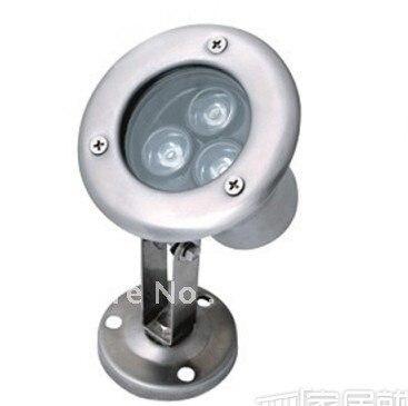 promotion DHL/UPS/FEDEX free shipping 30pcs 3w led underwater light/led swimming light 3year warranty