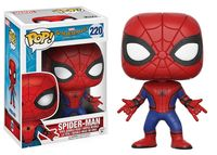 Funko pop Oficial do Homem-Aranha do Regresso A Casa-SpiderMan Terno Novo Vinyl Action Figure Collectible Modelo Toy com Caixa Original