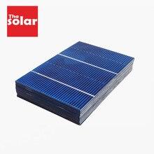 50 шт. солнечная панель 5 в 6 в 12 В мини-Солнечная система DIY для зарядных устройств для аккумуляторов портативная 125 156 Солнечная батарея 0,37 Вт 0,54 Вт 0,66 ВТ 1,05 Вт