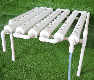 Image 4 - 54 Holes Hydroponic Piping Site Grow Kit Deep Water Culture Planting Box Gardening System Nursery Pot Hydroponic Rack 220V