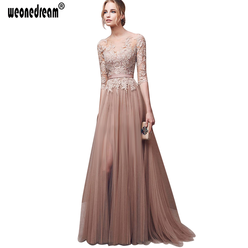 Compare Prices on Dark Pink Chiffon Long Dress- Online Shopping ...