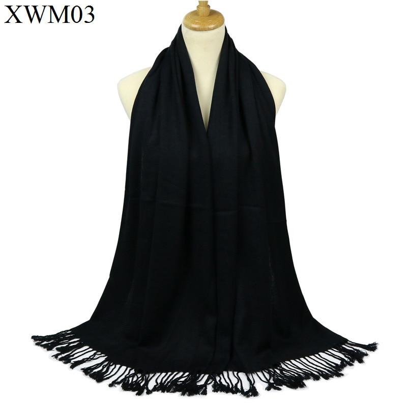 Free Shipping Black Chinese Women's Silk Pashmina Shawl Scarf Wrap Scarves WS008-E
