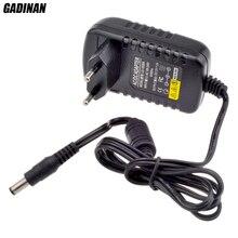 Gadinan 12V 2A AC 100 V 240 V konwerter Adapter DC 12V 2A 2000mA zasilacz ue UK AU US wtyczka 5.5mm x 2.1mm dla kamera ip cctv
