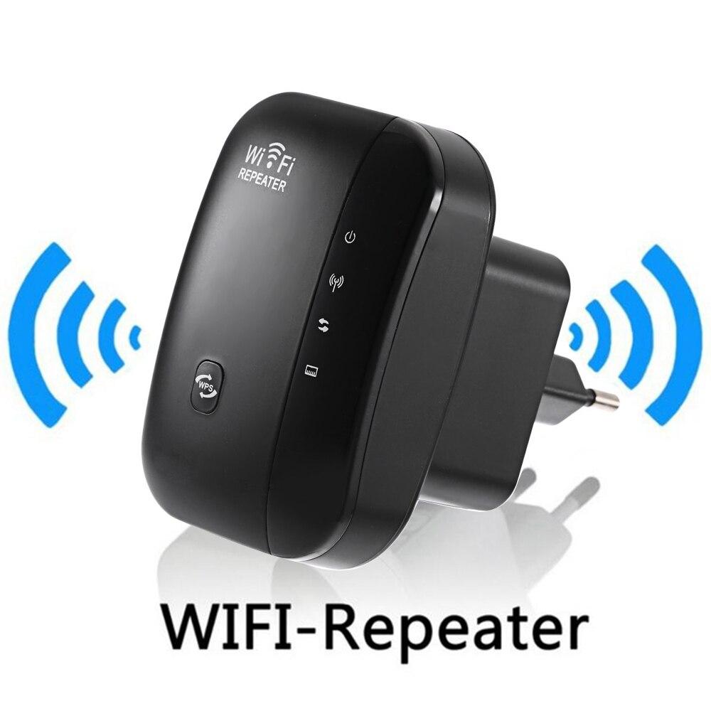 Inalámbrico N 802.11N/B/G WPS 300 Mbps WiFi repetidor de red para AP Router rango expansor de señal amplificador extensible WR03