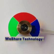 Projector Color Wheel Model For  DELL 2300MP Replacement Color Wheel Colour New