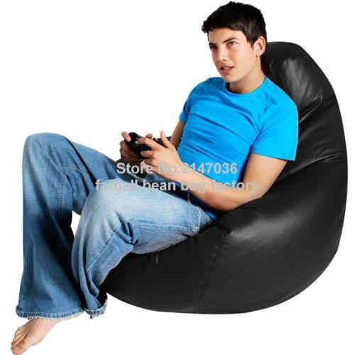 Gamer bean bag XXL, dorosłych rozmiar BIG beanbag kanapa krzesło, przenośny worek fasoli meble poduszki, wodoodporna plaża krzesło