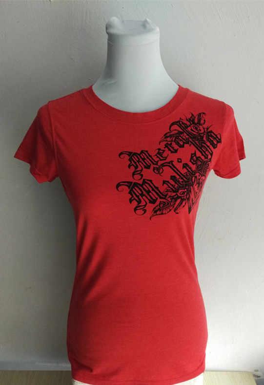 Женская футболка с тяжелым металлическим черепом, американский размер xs-l (без основной этикетки и этикетки размеров)