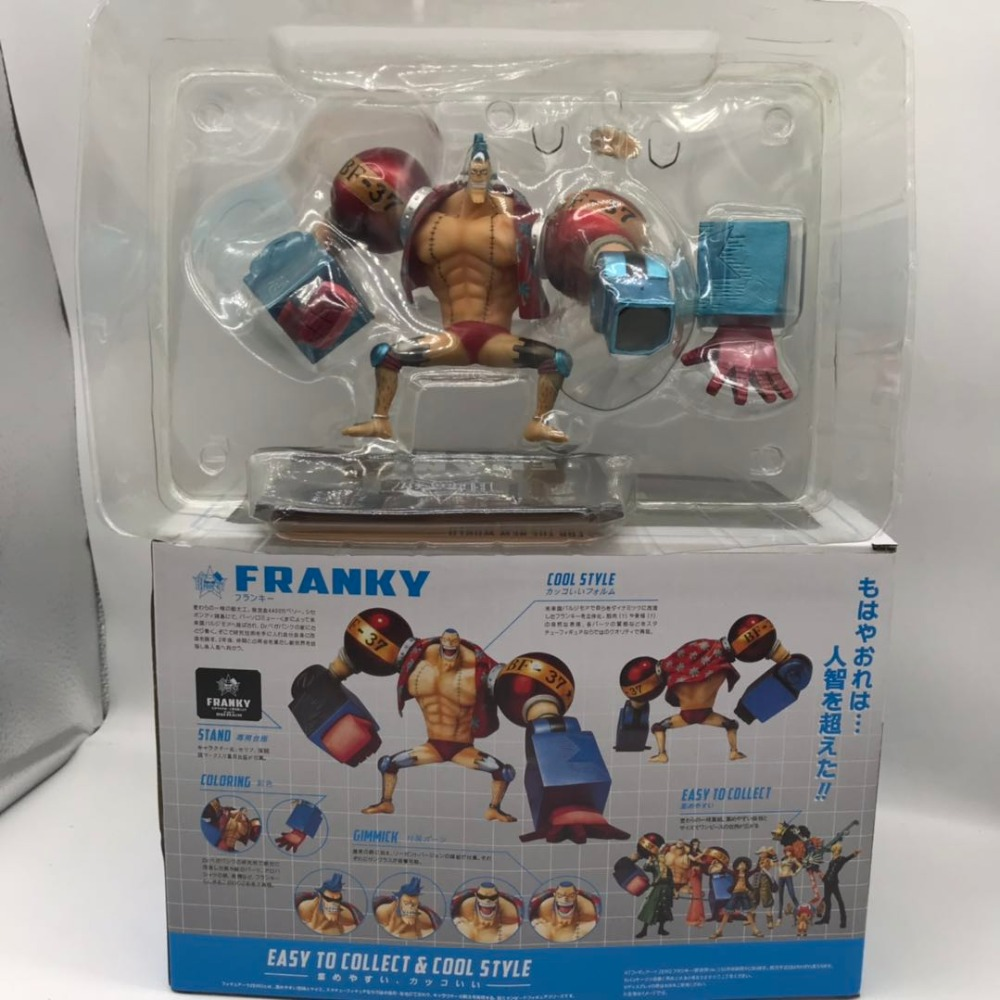 One Piece For The New World Figure Franky Easy To Collect Cool Style PVC Action Figure Collectible Model Toys Doll