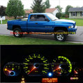 Free Shipping 15Pcs/Lot Superbright Hight Power Led 12v Car Led Instrument Panel Light For Dodge Ram 1500 2500 3500 1995-2002